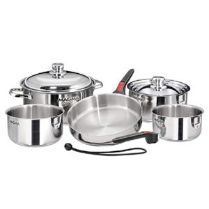 Magma 10 Piece Stainless Steel Cookware