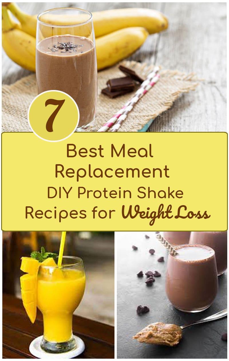 Meal Replacement & DIY Protien Shake