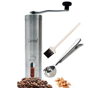 Mini Portable Manual Coffee and Spice Grinder