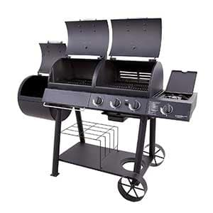 Oklahoma Joe's Charcoal/LP/Smoker Combo