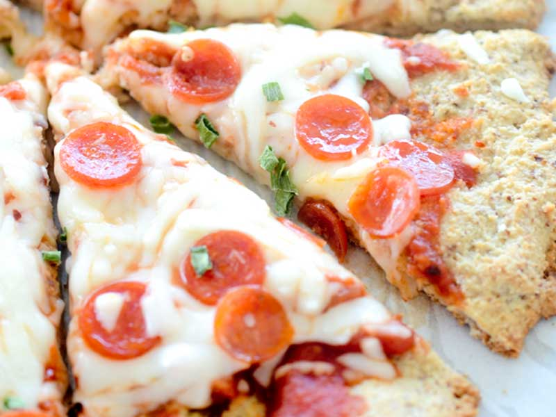 Parmesan & Almond Flour Pizza Crust
