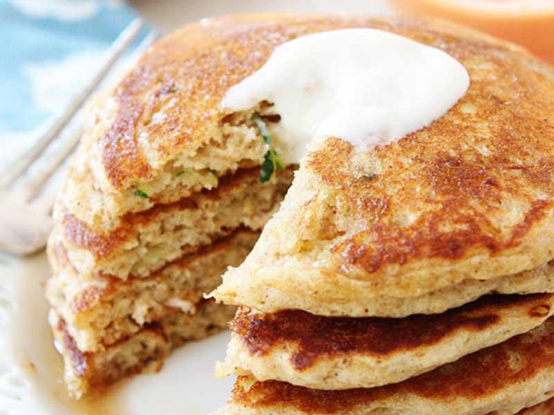 Zucchini Bread Pancake