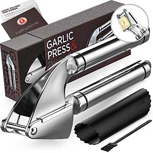 best overall alpha grillers garlic press