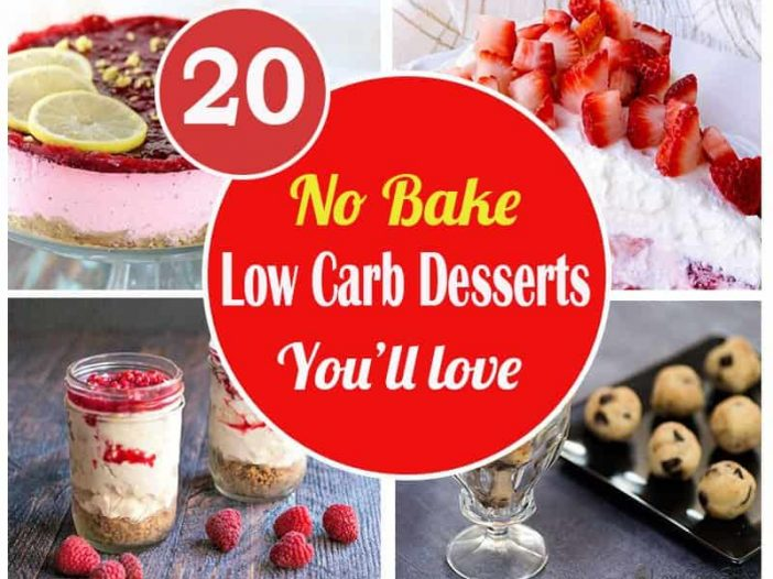 easy no bake low carb desserts