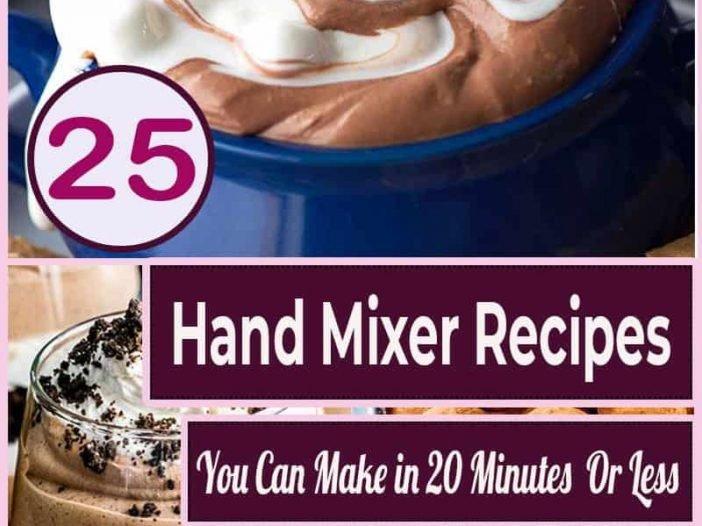 hand mixer recipes