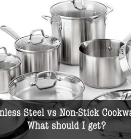 stainless steel vs non-stick cookware