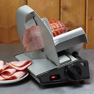 8.7in stainless steel electric meat slicer