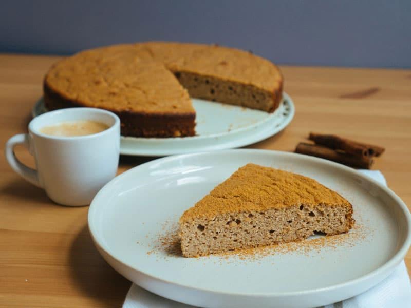 Cinnamon Ricotta Cake