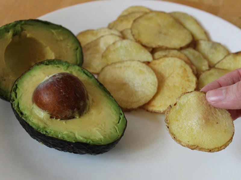 Coconut Oil Potato Chips