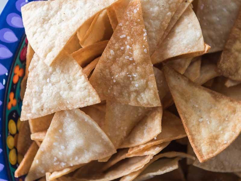 Coconut Oil Tortilla Chips