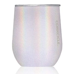 corkcicle 12 oz triple insulated stemless glass