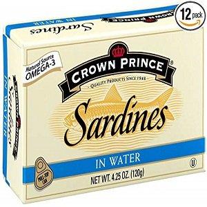 crown prince sardines in water