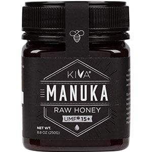 kiva certified umf 15+ raw