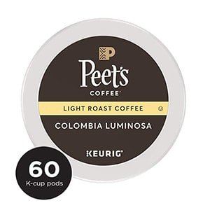 peet's coffee colombia luminosa k cup