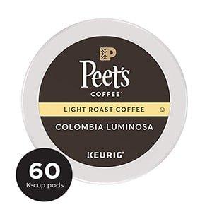 peet's coffee colombia luminosa k cup