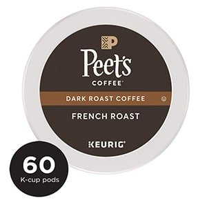 peet's coffee, dark roast, french roast