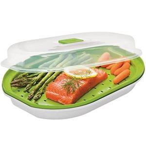 prepworks fish & veggie steamer