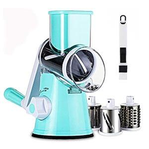 slc swift rotary drum grater vegetable cheese cutter slicer shredder grinder