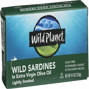 wild planet wild sardines in extra vergin oil