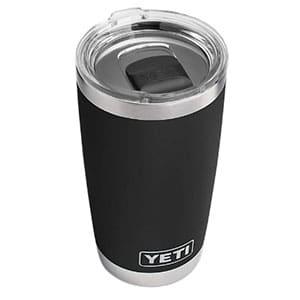 yeti tumbler rambler black lid 20 oz