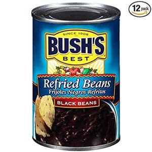 bush's best black refried beans
