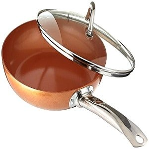 copper chef 10 inch round frying pan