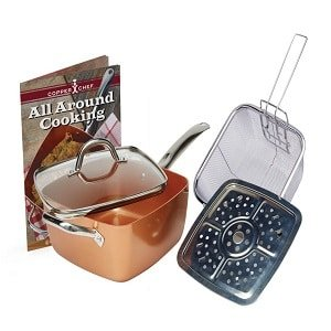 copper chef 11 xl cookware set