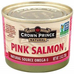 crown prince natural pink salmon