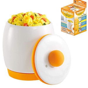 egg tastic ceramic microwave egg poacher