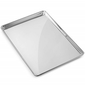 gridmann commercial grade aluminum cookie sheet