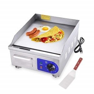 koval inc electric griddle countertop