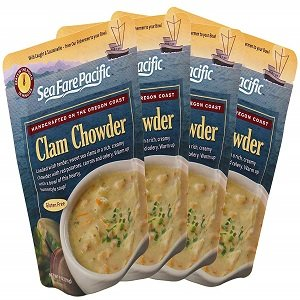 sea fare pacific clam chowder
