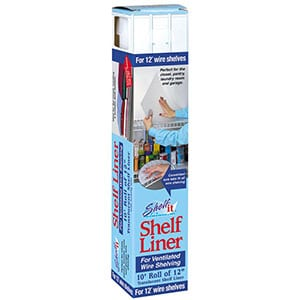 shelf It liner for wire shelving