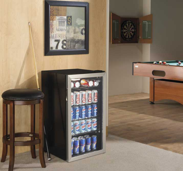 spaces between wall and fridge