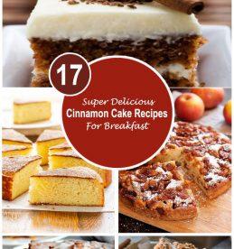 super delicious cinnamon cake recipes