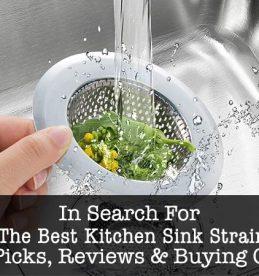 best kitchen sink-strainer