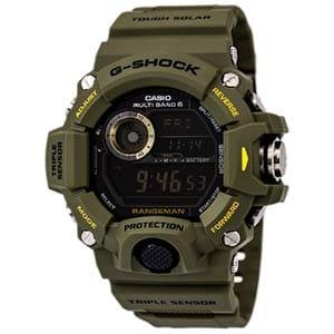casio men's gw9400 rangeman g-shock solar atomic watch