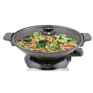 continental electric ps-- sk319 chef electric wok, 4.5-quart