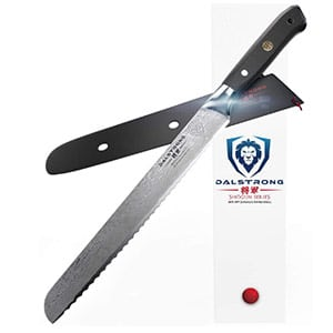 dalstrong 10 inch bread knife shogun series