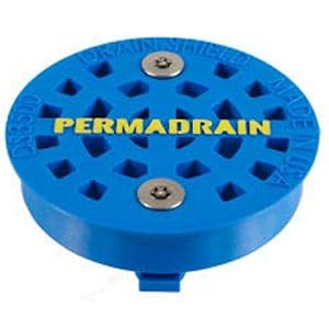 "drainshield 3.5"" commercial sink strainer"