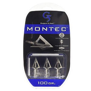 g5 outdoors montec stainless steel fixed broadheads