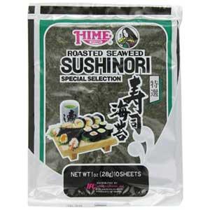 Hime seaweed sushi