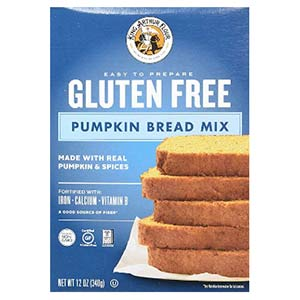 king arthur flour gluten free pumpkin bread mix