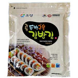 Korean roasted seaweed