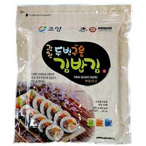 Korean roasted seaweed