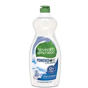 seventh generation baby dish liquid soap