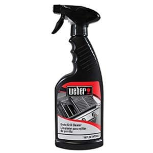 weber grill cleaner spray professional strength degreaser