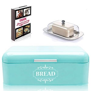 all-green products vintage for kitchen bread box