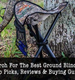 best ground blind chair