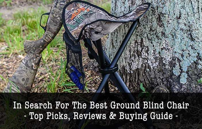 best ground blind chair